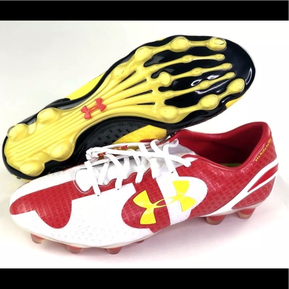 size 40 3dd5f 9b9a1 Armour Clutchfit Force FG Maryland soccer cleats